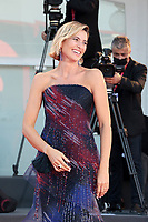 VENICE, ITALY - SEPTEMBER 12: Anna Foglietta walks the red carpet ahead of closing ceremony at the 77th Venice Film Festival on September 12, 2020 in Venice, Italy. <br /> CAP/MPI/AF<br /> ©AF/MPI/Capital Pictures
