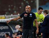 23rd September 2021; G.Ferraris Stadium, Genoa, Italy; Serie A football, Sampdoria versus Napoli: Luciano Spalletti coach of Napoli