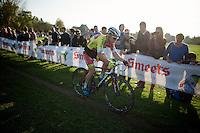 Julien Taramarcaz (SUI/Corendon-Stannah)<br /> <br /> Koppenbergcross 2014