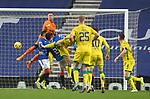 26.12.2020 Rangers v Hibs: Allan McGregor commands his goalmouth