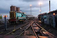 Neville Hill rail maintenance depot at Leeds