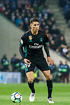 Achraf Hakimi of Real Madrid in action during the La Liga 2017-18 match between RCD Espanyol and Real Madrid at RCDE Stadium on 27 February 2018 in Barcelona, Spain. Photo by Vicens Gimenez / Power Sport Images