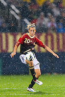 Lena Goessling (20) of Germany (GER). The United States (USA) and Germany (GER) played to a 2-2 tie during an international friendly at Rentschler Field in East Hartford, CT, on October 23, 2012.