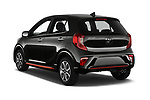 Car pictures of rear three quarter view of a 2019 KIA Picanto GT Line 5 Door Hatchback angular rear