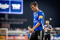 SAN JOSE, CA - SEPTEMBER 4: Chris Wondolowski #8 of the San Jose Earthquakes leaves the field after a game between Colorado Rapids and San Jose Earthquakes at PayPal Park on September 4, 2021 in San Jose, California.