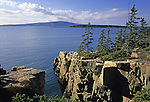 View from the Raven's Nest, an area on the Schoodic Peninsula, Acadia National Park, Maine, USA