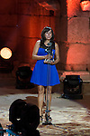 Rei Liar during 2015 Theater Ceres Awards ceremony at Merida, Spain, August 27, 2015. <br /> (ALTERPHOTOS/BorjaB.Hojas)