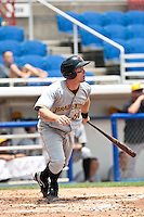 Eric Fryer (50) of the Bradenton Marauders during a game vs. the Dunedin Blue Jays May 16 2010 at Dunedin Stadium in Dunedin, Florida. Bradenton won the game against Dunedin by the score of 3-2.  Photo By Scott Jontes/Four Seam Images