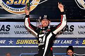 #51: Kyle Busch, Kyle Busch Motorsports, Toyota Tundra Cessna celebrates in victory lane