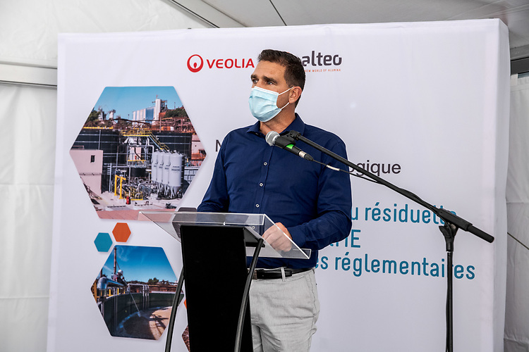 Alteo : Inauguration Station Biologique Véolia - Gardanne - 4 septembre 2020