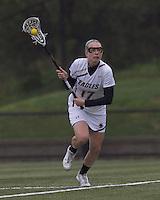 Boston College midfielder Mikaela Rix (17) at midfield. Boston College defeated University of New Hampshire, 11-6, at Newton Campus Field, May 1, 2012.