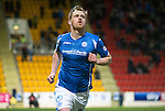 St Johnstone v Aberdeen…22.04.16  McDiarmid Park, Perth<br />Liam Craig celebrates his goal<br />Picture by Graeme Hart.<br />Copyright Perthshire Picture Agency<br />Tel: 01738 623350  Mobile: 07990 594431