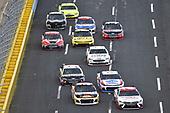 #20: Erik Jones, Joe Gibbs Racing, Toyota Camry Sport Clips and #9: Chase Elliott, Hendrick Motorsports, Chevrolet Camaro SunEnergy1