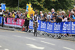 Rohan Dennis (AUS) in action during the Men Elite Individual Time Trial of the UCI World Championships 2019 running 54km from Northallerton to Harrogate, England. 25th September 2019.<br /> Picture: Eoin Clarke | Cyclefile<br /> <br /> All photos usage must carry mandatory copyright credit (© Cyclefile | Eoin Clarke)