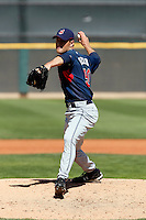 Frank Herrmann  -  Cleveland Indians - 2009 spring training.Photo by:  Bill Mitchell/Four Seam Images