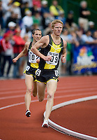 EUGENE, OR--Matt Tegenkamp competes in the mens 2 mile during the Steve Prefontaine Classic, Hayward Field, Eugene, OR. SUNDAY, JUNE 10, 2007. PHOTO © 2007 DON FERIA