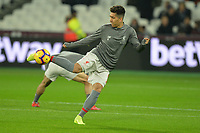 Roberto Firmino during West Ham United vs Liverpool, Premier League Football at The London Stadium on 4th February 2019