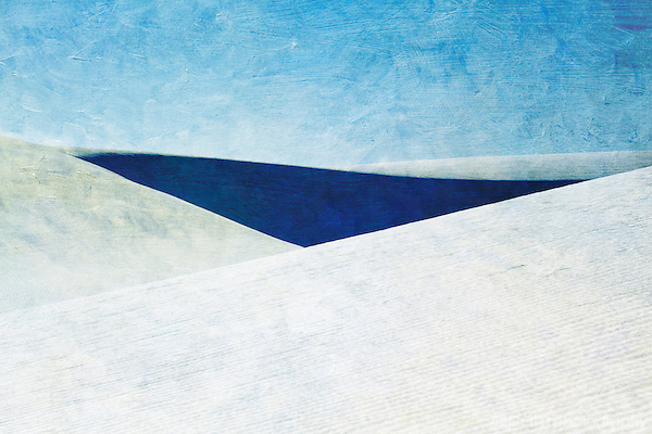 Textured photograph of white sand dunes