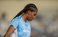 31st August 2021; Estadio Afredo Di Stefano, Madrid, Spain; Women's Champions League, Real Madrid CF versus Manchester City Football Club; Khadija Shaw (Manchester City) as her shot goes wide