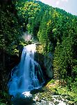 Oesterreich, Salzburger Land, Gollinger Wasserfall im Tennengau | Austria, Salzburger Land, Golling waterfall