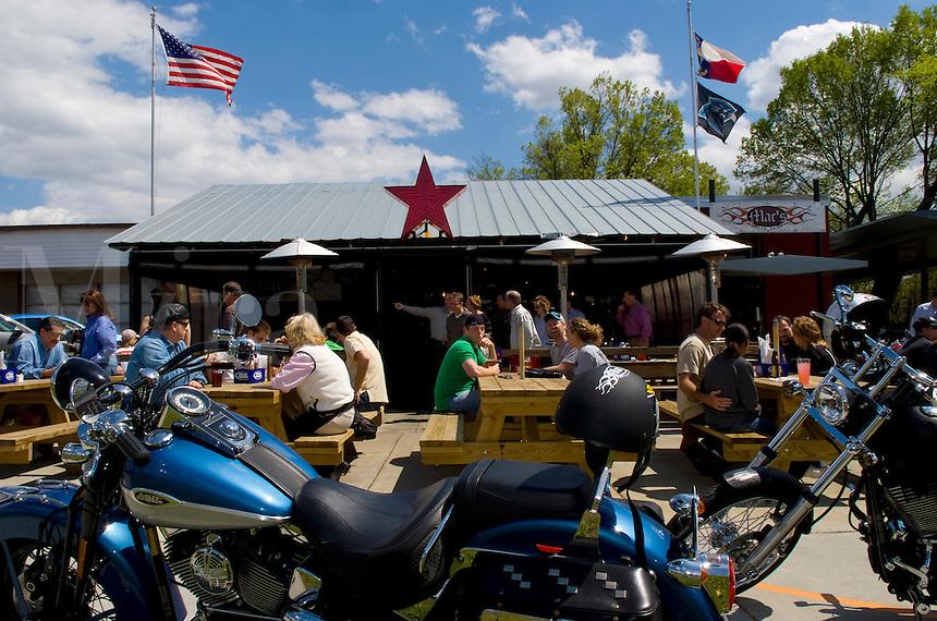 Famous Charlotte North Carolina Biker Hangout called MACS Speed Shop