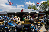 Famous Charlotte North Carolina Biker Hangout called MACS Speed Shop