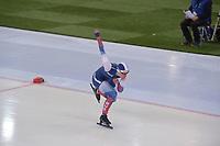 SPEEDSKATING: HAMAR: Vikingskipet, 29-02-2020, ISU World Speed Skating Championships, Sprint, 1000m Ladies, Angelina Golikova (RUS), ©photo Martin de Jong