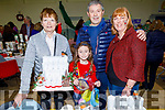 Sarah and Brian Lenihan with Cecilia O'Callaghan and Mary Jane Reidy enjoying the Arts, Crafts and Food fare at the Ardfert Community Centre on Sunday.