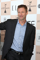 LOS ANGELES - FEB 26:  Aaron Eckhart arrives at the 2011 Film Independent Spirit Awards at Beach on February 26, 2011 in Santa Monica, CA
