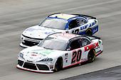 #20: Harrison Burton, Joe Gibbs Racing, Toyota Supra Fields/DEX Imaging, #10: Ross Chastain, Kaulig Racing, Chevrolet Camaro Moose Fraternity