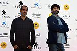 53 FESTIVAL INTERNACIONAL DE CINEMA FANTASTIC DE CATALUNYA. SITGES 2020.<br /> Javier Ruiz Caldera & Alberto de Toro. Malnazidos. Photocall.