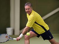 March 7, 2015, Netherlands, Hilversum, Tulip Tennis Center, NOVK, Wim Groeneveld (NED)<br /> Photo: Tennisimages/Henk Koster