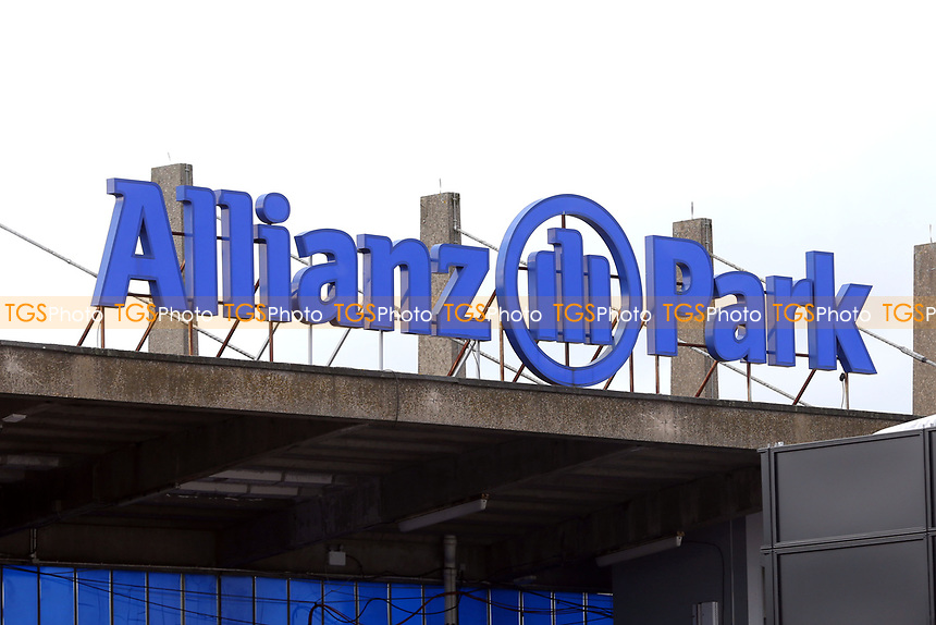 General view of Allianz Park before Hendon RFC vs Cranbrook RFC, RFU Junior Vase Rugby Union at Allianz Park on 14th March 2020