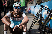 Nans Peters (FRA/AG2R - La Mondiale) at the finish in L'Aquila<br /> <br /> Stage 7: Vasto to L'Aquila (180km)<br /> 102nd Giro d'Italia 2019<br /> <br /> ©kramon