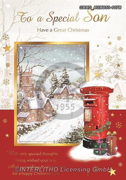 John, CHRISTMAS LANDSCAPES, WEIHNACHTEN WINTERLANDSCHAFTEN, NAVIDAD PAISAJES DE INVIERNO, paintings+++++,GBHSHSXC50-107B,#xl#