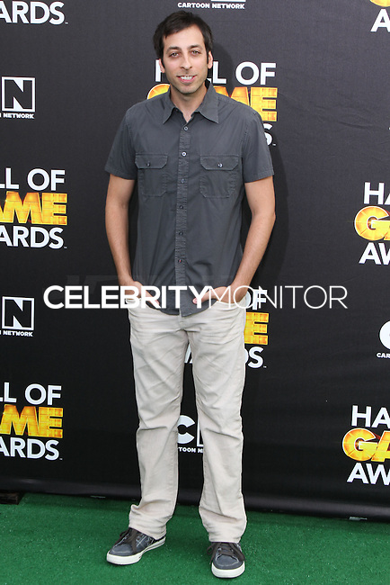SANTA MONICA, CA, USA - FEBRUARY 15: Lonny Ross at the 4th Annual Cartoon Network Hall Of Game Awards held at Barker Hangar on February 15, 2014 in Santa Monica, California, United States. (Photo by David Acosta/Celebrity Monitor)