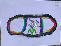 We are in this together. Jonah Nilson Grade 3, Yarmouth Maine, USA