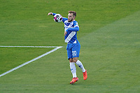 Adrian Stanilewicz (SV Darmstadt 98)<br /> <br /> - 08.11.2020: Fussball 2. Bundesliga, Saison 20/21, Spieltag 7, SV Darmstadt 98 - SC Paderborn 07, emonline, emspor, <br /> <br /> Foto: Marc Schueler/Sportpics.de<br /> Nur für journalistische Zwecke. Only for editorial use. (DFL/DFB REGULATIONS PROHIBIT ANY USE OF PHOTOGRAPHS as IMAGE SEQUENCES and/or QUASI-VIDEO)