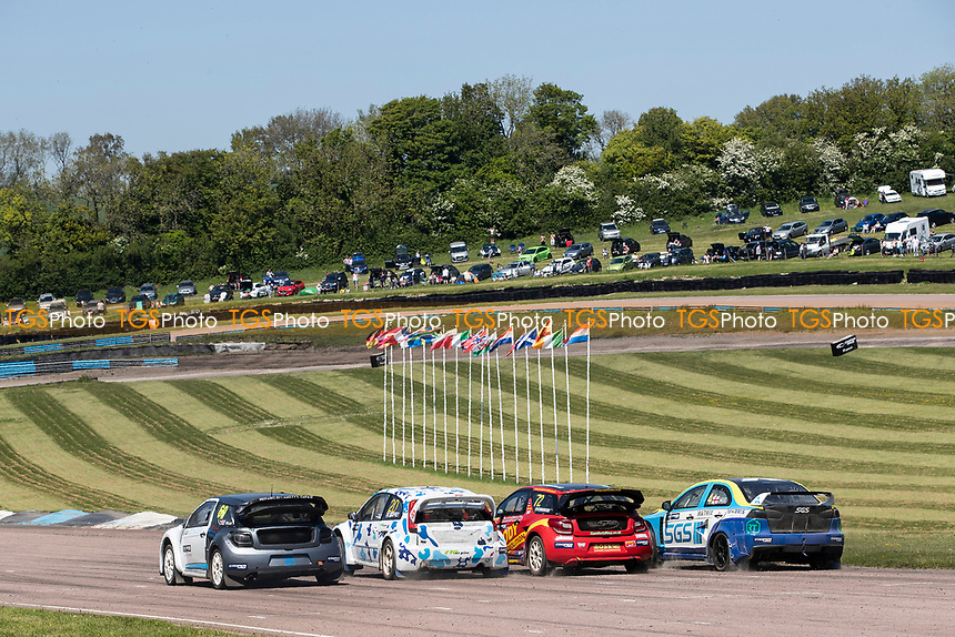 Supercars second qualifier gets under way during the 5 Nations BRX Championship at Lydden Hill Race Circuit on 31st May 2021