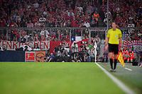 18.08.2017,  Football 1.Liga 2017/2018, 1. match day, FC Bayern Muenchen - Bayer Leverkusen, in Allianz-Arena Muenchen, photographers in the rain *** Local Caption *** © pixathlon<br /> <br /> +++ NED + SUI out !!! +++<br /> Contact: +49-40-22 63 02 60 , info@pixathlon.de