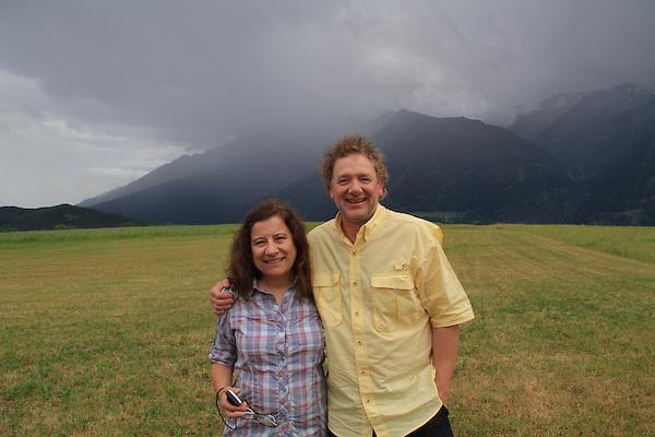 John Kieffer and Beth Crespo in Europe 2013.