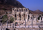 Asian, TUR, Turkey, Aegean, Ephesos, Celsus Library, Roman Library of Celsus
