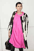 **FILE PHOTO** Stella Tennant Has Passed Away at 50.<br /> <br /> NEW YORK, NY -  FEBRUARY 12: Stella Tennant at the Boss Women Fashion Show during the Mercedes-Benz Fashion Week Fall 2014 on February 12, 2014 in New York City, New York. <br /> CAP/MPI99<br /> ©MPI99/Capital Pictures