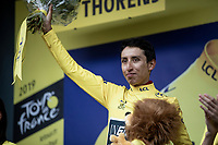 Egan Bernal (COL/Ineos) wins the 2019 Tour (if he reaches Paris the after stage 20...)<br /> <br /> shortened stage 20: Albertville to Val Thorens (59km in stead of the original 130km due to landslides/bad weather)<br /> 106th Tour de France 2019 (2.UWT)<br /> <br /> ©kramon