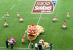 Opening Ceremony on Day 1 of the 2012 Cathay Pacific / HSBC Hong Kong Sevens at the Hong Kong Stadium in Hong Kong, China on 23rd March 2012. Photo © Ricardo Ordonez  / The Power of Sport Images