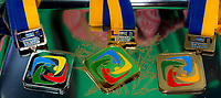 Medals <br /> LEN European Diving Championships 2017<br /> Sport Center LIKO, Kiev UKR<br /> Jun 12 - 18, 2017<br /> Day05 16-06-2017<br /> Photo © Giorgio Scala/Deepbluemedia/Insidefoto
