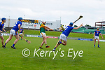 Mikey Boyle, Kerry in action against Peter Keane, Wicklow in the Allianz National Hurling League Division 2A Round 4 at Austin Stack Park, Tralee on Saturday.