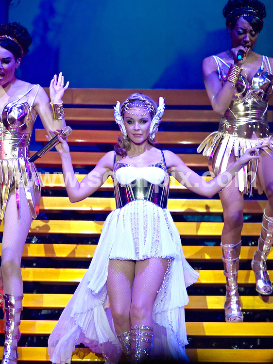**ALL ROUND PICTURES FROM SOLARPIX.COM**                                             **UK AND SPAIN SYNDICATION RIGHTS ONLY**                                                                                  Kylie Minogue adopted a Roman theme  live on stage at her World Tour start in Boxen in Herning, Denmark - Kongsted                                                                      .This pic:      Kylie Minogue                                                                                        JOB REF:   12852     CPR       DATE:    21.02.11                                                        **MUST CREDIT SOLARPIX.COM OR DOUBLE FEE WILL BE CHARGED**                                                                      **MUST AGREE FEE BEFORE ONLINE USAGE**                               **CALL US ON: +34 952 811 768 or LOW RATE FROM UK 0844 617 7637**