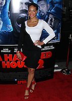 """LOS ANGELES, CA, USA - APRIL 16: Iva La'Shawn at the Los Angeles Premiere Of Open Road Films' """"A Haunted House 2"""" held at Regal Cinemas L.A. Live on April 16, 2014 in Los Angeles, California, United States. (Photo by Xavier Collin/Celebrity Monitor)"""
