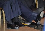 LE SCARPE DI SILVIO BERLUSCONI, PAOLO SCARONI E DIEGO DELLA VALLE<br /> PREMIO GUIDO CARLI - TERZA  EDIZIONE<br /> PALAZZO DI MONTECITORIO - SALA DELLA LUPA<br /> CON RICEVIMENTO  HOTEL MAJESTIC   ROMA 2012